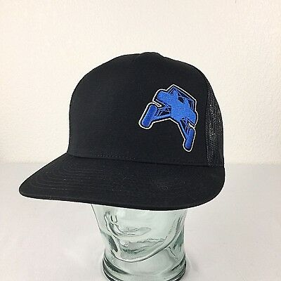 Dune Buggy Trucker Snapback Hat Black Mesh Back Ball Cap Yupoong The Classics  for sale  Shipping to India