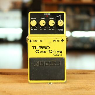 VINTAGE BOSS OD-2 TURBO OVER DRIVE