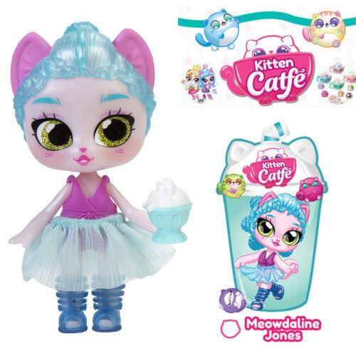 Jakks Series 4 Boba MEOWDALINE JONES Kitten Catfe Doll Blue Pink Purrista Girls