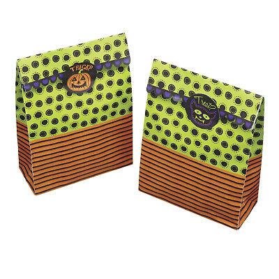 Kitchen Craft Spookily Does It Pack of 8 Halloween Treat Or Treat Paper Bag Kits (Halloween Paper Bag)