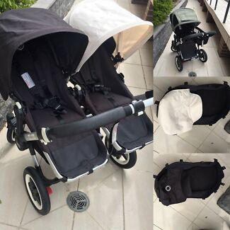 Wanted: Bugaboo Donkey Duo AND extra extendable breezy AND extra apron