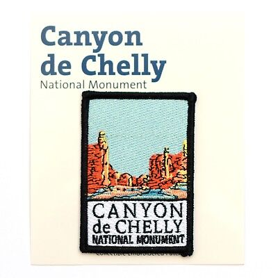 Official Canyon de Chelly National Monument Souvenir Patch Arizona Park Canyon De Chelly National Monument