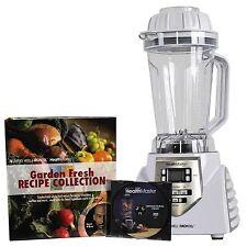 Montel Williams 1200 Watt 8-Speed HealthMaster Elite Blender & Emulsifier White
