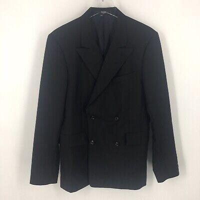 Tiger of Sweden Black Blazer Sports Coat Suit Jacket sz 50 (measures as 40R)