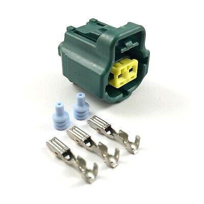 Suzuki Pins - Suzuki Hayabusa 2-Pin Water Coolant Temp Sensor Connector Plug Kit 99-07