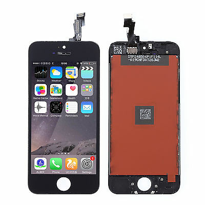 Black LCD Display+Touch Screen Digitizer Assembly Replacement for iPhone 5S New on Rummage