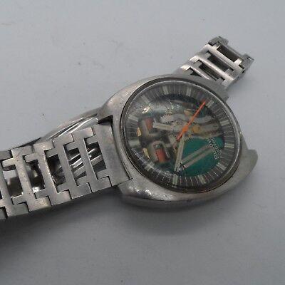 Vintage Gents Bulova Accutron Spaceview Bracelet Wrist Watch 3-162272