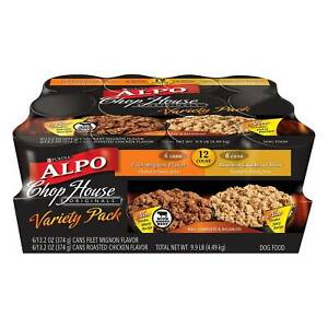 Purina Alpo Chop House Dog Food Variety - 12 Pieces - $6.90