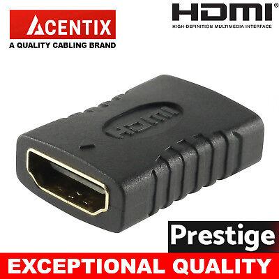 HDMI Extender Female To Female Coupler Joiner Connector Adapter 1080p ULTRA HDTV