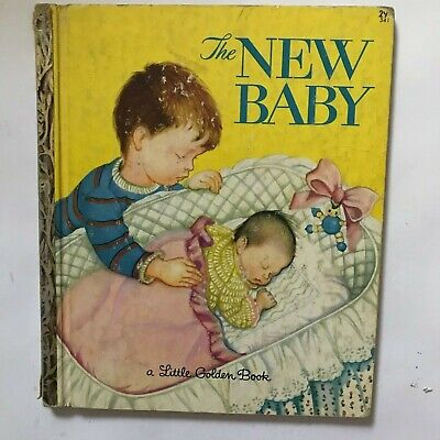 """A Little Golden Book """"The New Baby"""" Copyright 1948"""
