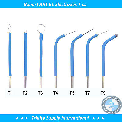 Electrode Set Of 7 Tips For The Art-e1 Electrosurgery By Bonart. A
