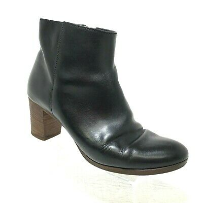 J. Crew Aggie Size 8 Boots Ankle Booties Black $268 Italy