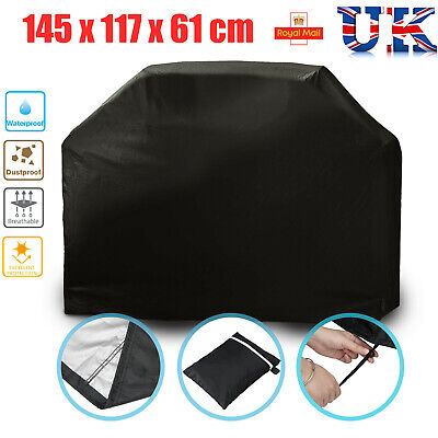 Heavy Duty BBQ Cover Waterproof  Barbecue Grill Protector Outdoor 145CM UK Stock