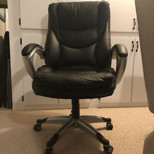 Serta Hi-Back Executive Leather Office Chair