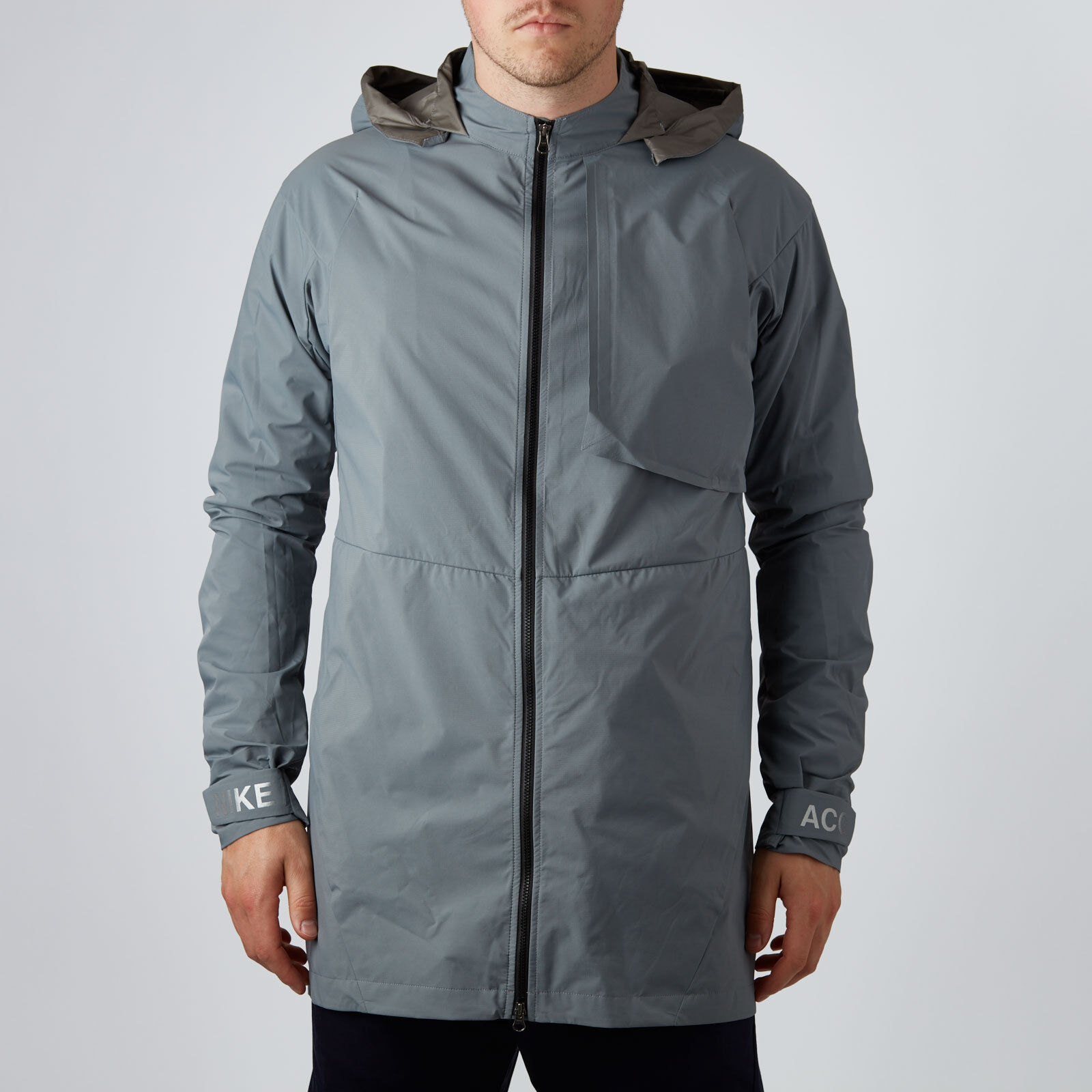NikeLab ACG Packable Jacket Gray Mens Nike Gore