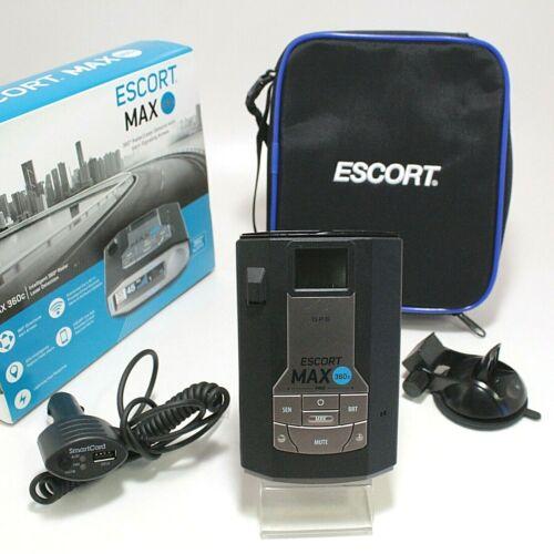 Escort Max360C Radar Laser Detector W/ Built In Wifi Max 360C GOOD BUNDLE