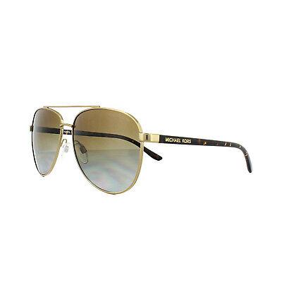 Michael Kors Sunglasses Hvar 5007 1044/T5 Gold Havana Brown Gradient (Mk5007 Polarized)