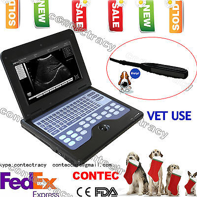 Vet Veterinary Portable Ultrasound Scanner Machine For Cowhorseanimalrectal