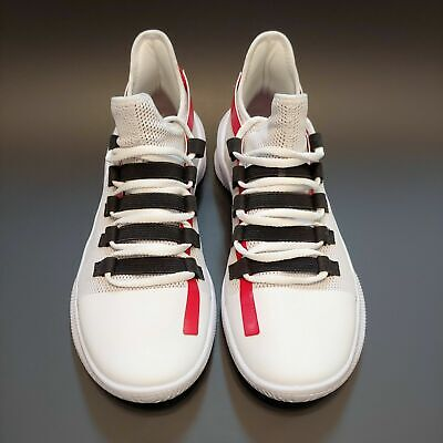 Under Armour Basketball Shoe M Tag Low White Size 11.5, 3021800-100 - New