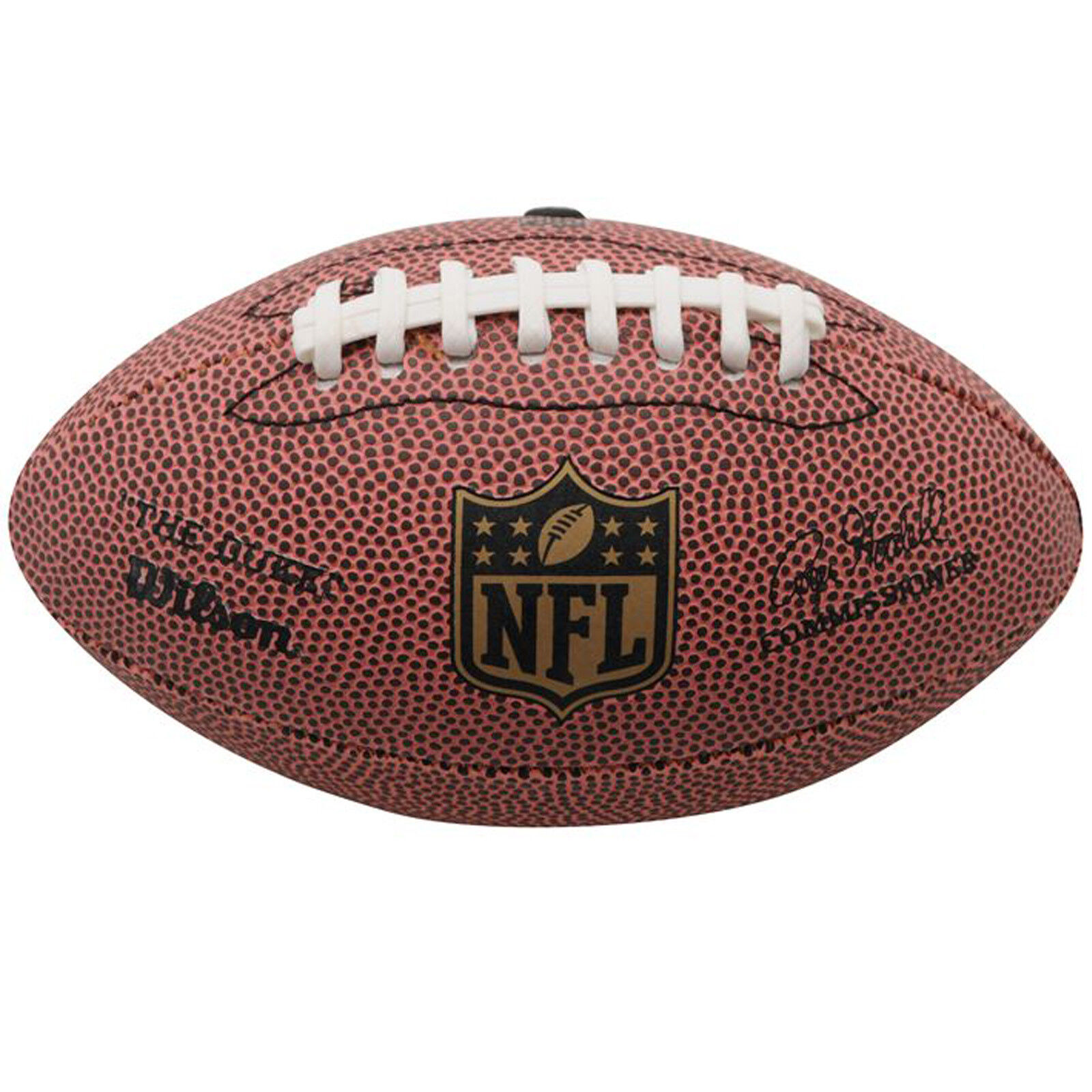 WILSON NFL Mini American Football The Duke Ball Super Bowl Soft Grip