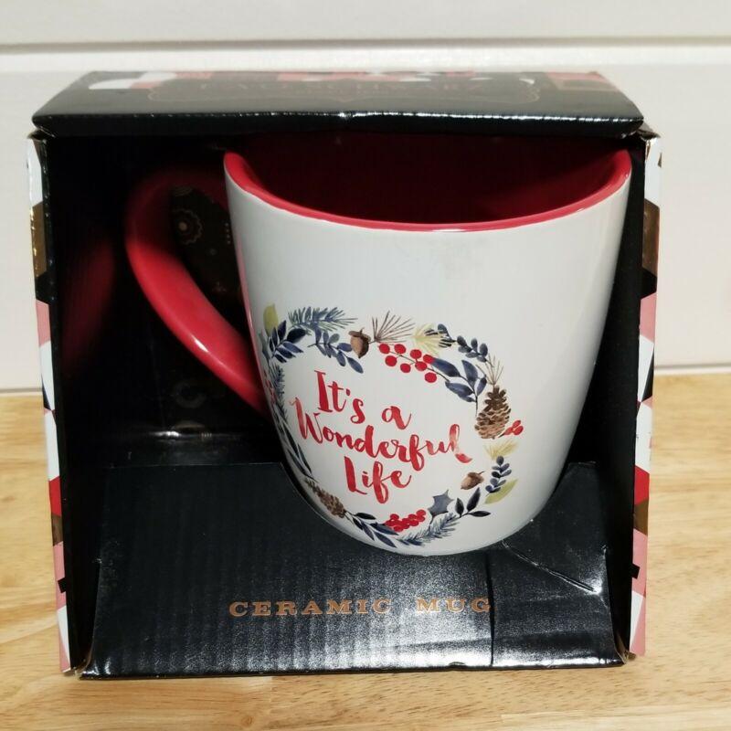 NEW FAO Schwarz Jumbo Ceramic Mug It