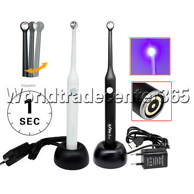 Woodpecker Style Dental Led 1s Curing Light High Power Wide Spectrum 2300mwcm
