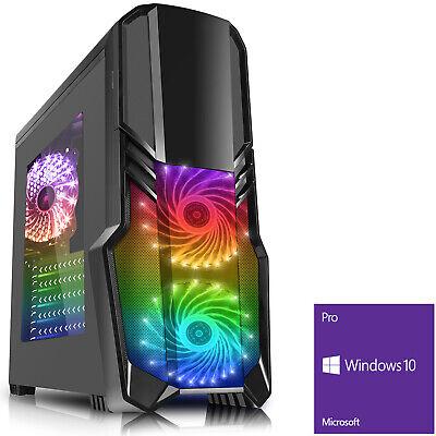 Computer Games - AMD 2200G Quad Core Gaming PC 8GB DDR4 1TB Vega 8 Computer Geforce Windows 10