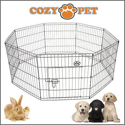 Cozy Pet Playpen Dog Rabbit Puppy Play Pen Cage Folding