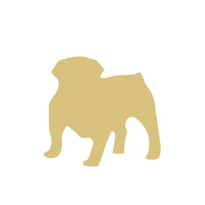 Bulldog Shape, Unfinished Animal Shape, Pet Wood Cutout, Wooden Paintable Craft](Wooden Animal Cutouts)