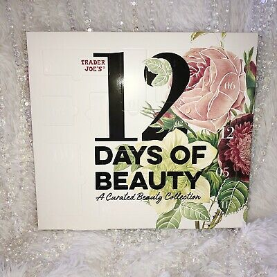 TRADER JOES 12 Days Of Beauty A Curated Collection Holiday Advent Calendar 2020