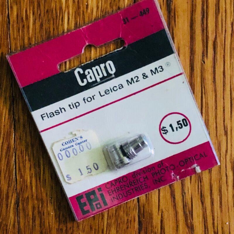 CAPRO FLASH TIP for LEICA M2 & M3 new unused