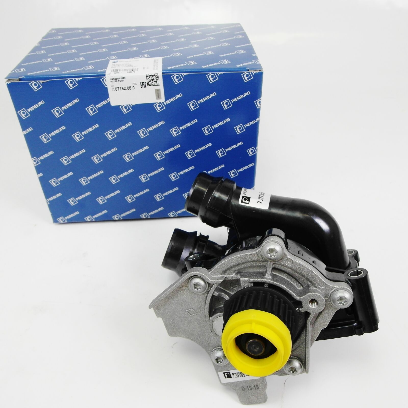 Wasserpume PIERBURG mit Termostat / Grundträger Audi VW 2,0l TSI TFSI