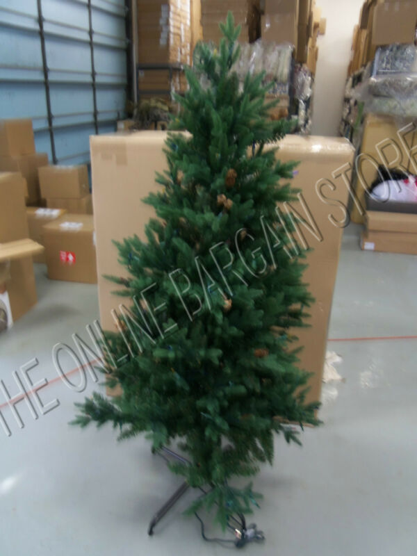 1 Frontgate Christmas Hyde Park Pathway Tree Pre Lit Clear White Lights 5