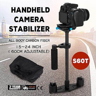 Carbon Fiber Stabilizer - S60T Carbon Fiber Handheld Camera Stabilizer for DSLR SLR Digital Camera