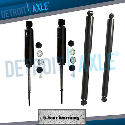 All 4 New Complete Front  Rear Shock Absorber Set for 4X4 Dakota  Durango