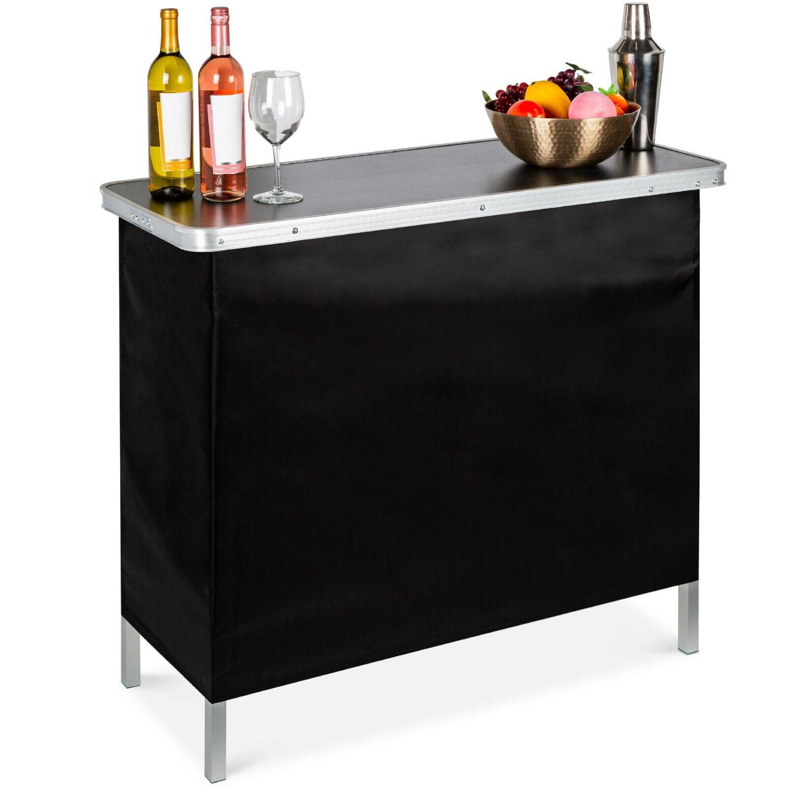 Best Choice Products Portable Pop-Up Bar Table for Indoor/Ou