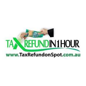 TAX REFUND ON SPOT