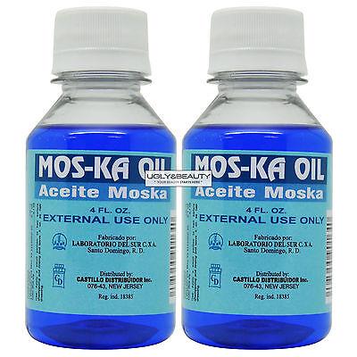 """Mos-Ka Oil Aceite Moska 4 Fl. Oz. """"Pack of 2"""" segunda mano  Embacar hacia Argentina"""
