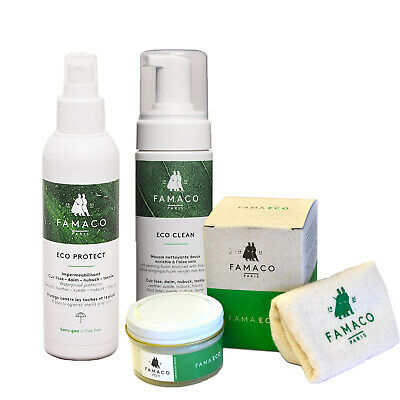 Famaco Eco Friendly Shoe Care Kit with Cedar Oil And Aloe Vera...