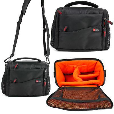 DSLR Water-Resistant Camera Shoulder Messenger Bag Case For SLR Canon Nikon Sony