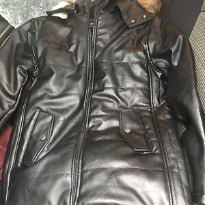 Black soft leather jacket