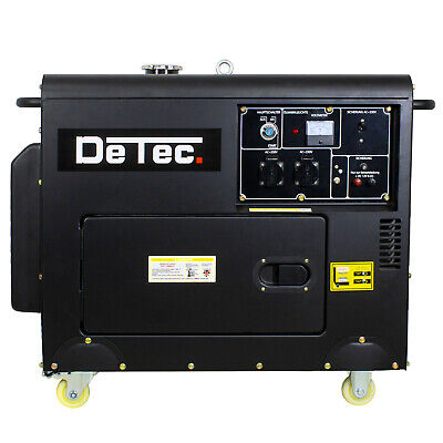 Dieselgenerator Stromerzeuger 5KW 12V 230V Notstrom-Aggregat Generator