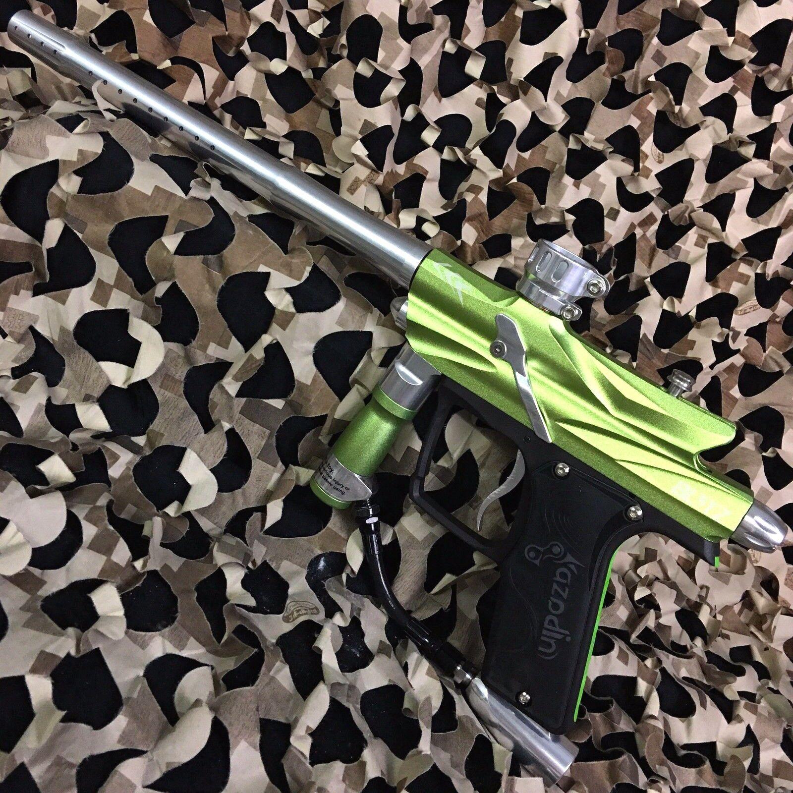 NEW Azodin Blitz 3 Electronic Paintball Gun Marker - Green/