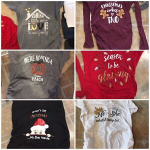 Maternity clothing and more