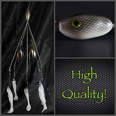 1 Piece Stainless Steel Alabama Fishing Rig Umbrella Rigs 20 cm//7.9 inch