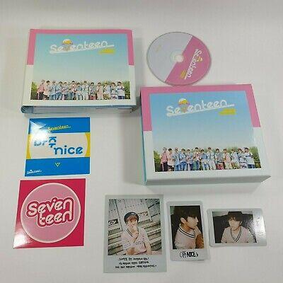SEVENTEEN 1st Repackage album Very Nice CD Booklet Seungkwan photocard K-POP