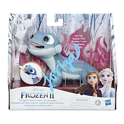 DISNEY FROZEN 2 BRUNI SALAMANDER FIRE SPIRITS SNOWY SNACK HOT NEW TOY!!!!!!