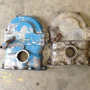 Ford FE timing chain covers