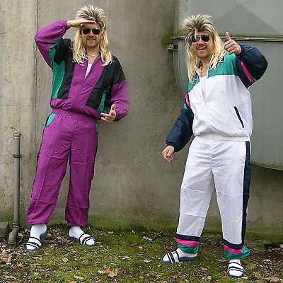 80er / 90er Proll Trainingsanzug, Assi / Asi Sportanzug Karneval Kostüm - Sport Karneval Kostüm