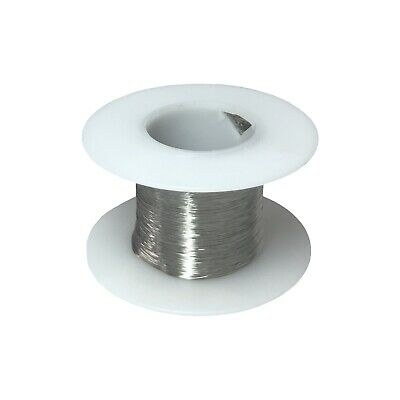 38 Awg Gauge Stainless Steel 316l Wire 1000 Length 0.0040 Diameter